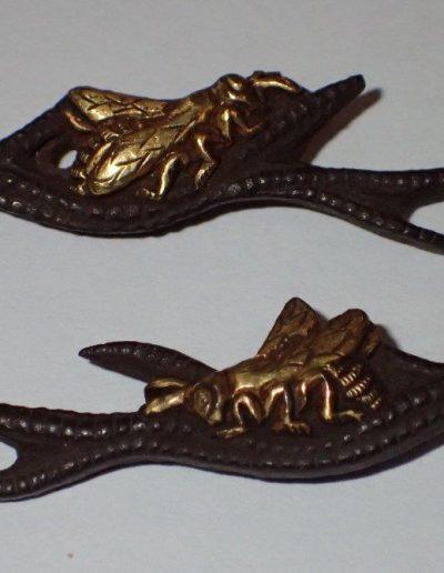 hornet and antler menuki