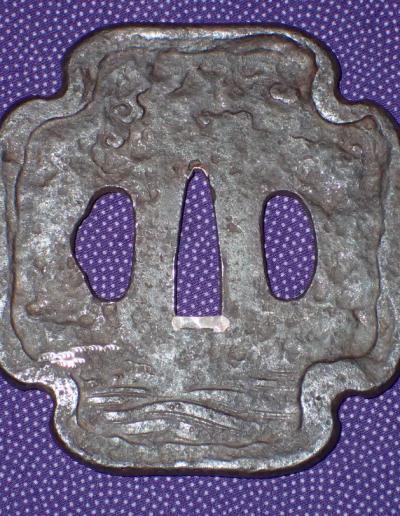 mount fuji tsuba 03
