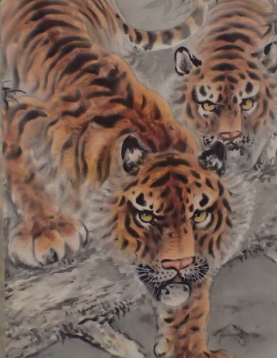 two tiger scroll 1